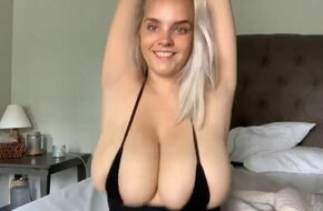 Nude boobs bouncing